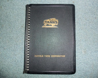 Buffalo Tanks Corporation Handbook 1949 Design Data and General Info. on Welded Tank & Plate Fabrication