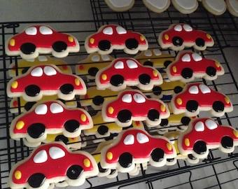 Cute Car Cookies - One Dozen (12)