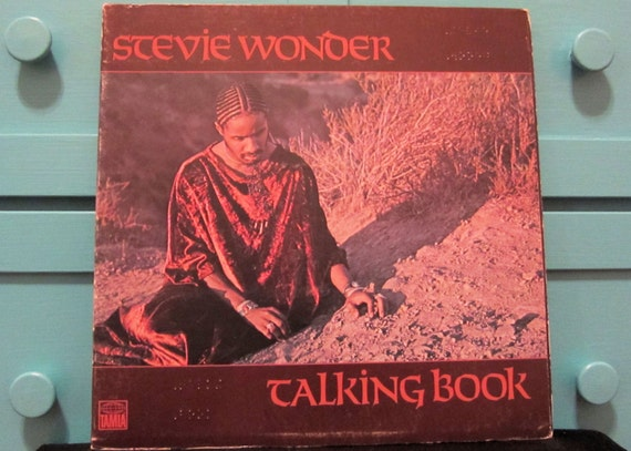 Stevie Wonder - Talking Book  Braille Cover Gatefold  Vinyl Record