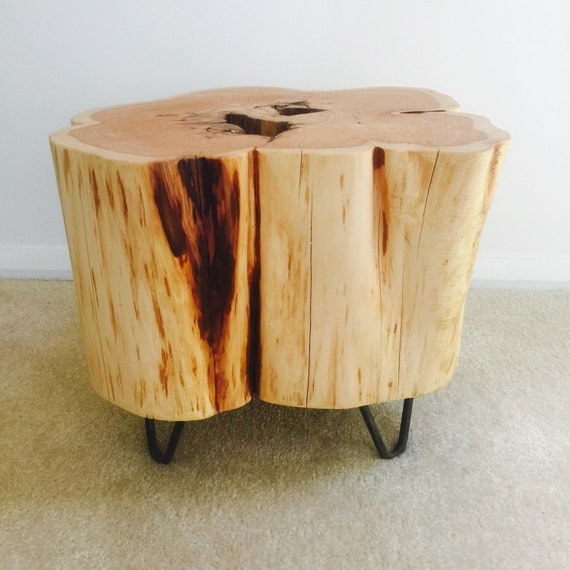 unique bedside table by craftedbyconor on etsy