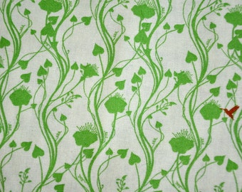 Fabric destash Out of Print OOP Rare Botany by Lauren and Jessie Jung of Moda Fabrics Vines and Birds