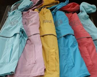 Monogram Charles River Rain Jacket