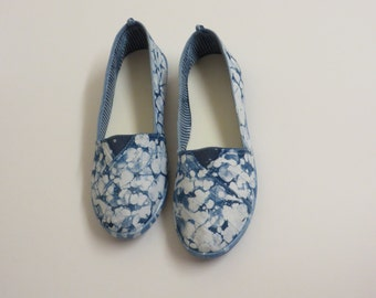 Indigo Bliss Women's Batik Slip-On size 8