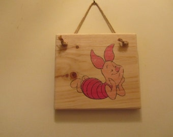 Winnie-the-Pooh Character Sign - Piglet