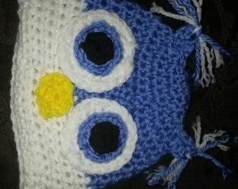 Baby Owl Hat 0-3 Months