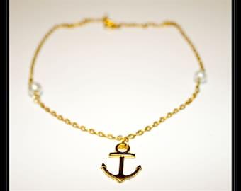 Bracelet Navy anchor