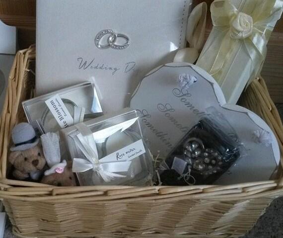 Wedding Gift Basket Etsy : Wedding Gift Basket by JennysBasketsofJoy on Etsy