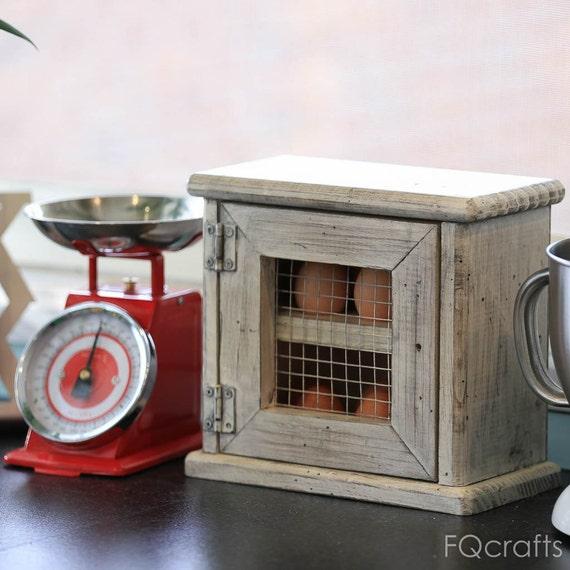 Countertop Egg Holder : ... Egg Holder Cabinet - Dozen Eggs - Store eggs on the kitchen countertop