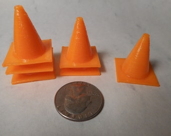 """Miniature cones 25mm or 1"""" tall"""