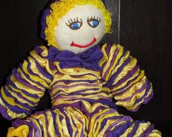 Purple and Gold YoYo Doll 002