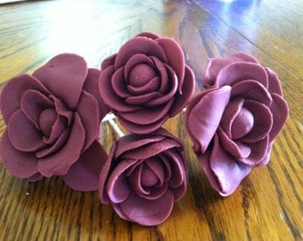 how to make gumpaste roses on wire