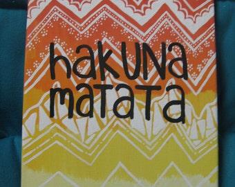 Hakuna Matata Canvas