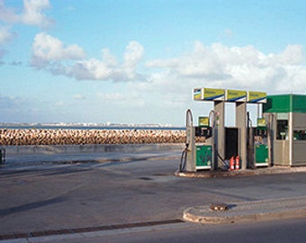 Petrol station, panoramic Photo