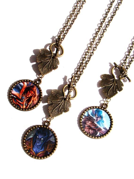 world of warcraft alliance necklace free by nerdygirlcouture