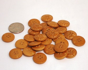 Leather Looking Buttons