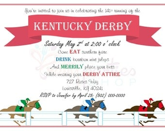 A Day at the Races Invitations