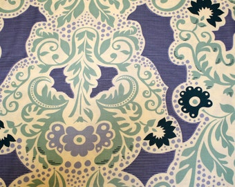 Grand Tapestry Teal and Blue by Sandi Henderson for Michael Miller Fabrics