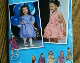 Simplicity Little Girls Dress Pattern