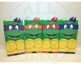 Teenage Mutant Ninja Turtle Favor Bags!