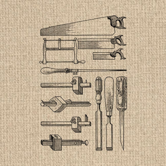 Printable Antique Tools Image Woodworking Clipart Tools Images