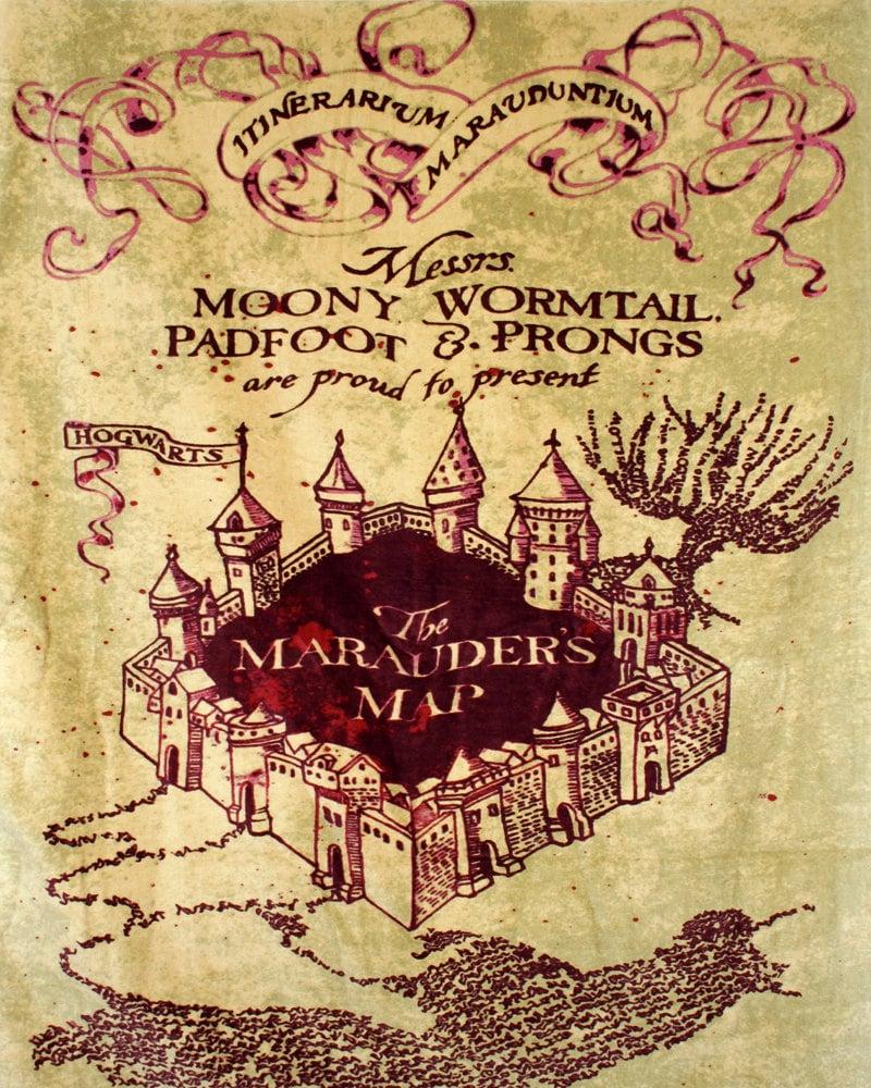 marauder s map iphone wallpaper - photo #25