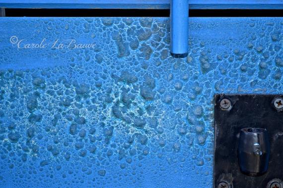 BLUE SHUTTER ~ New Orleans Photography ~ Blistered paint ~ French Quarter