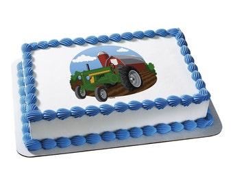 Edible Image Farm Tractor