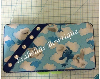 Smurfs travel wipe case