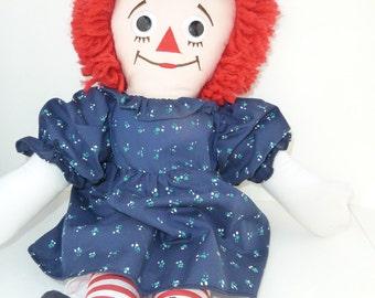 Raggeddy Ann Doll 1991 Johnny Gruelle