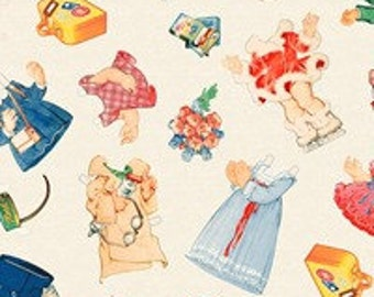 Blue Hill Fabric Paper Doll Cuties 8014 - 12