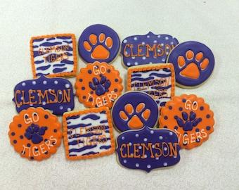 Clemson Sugar Cookies