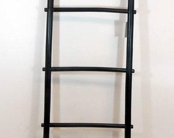 6'H Bamboo Ladder Rack, Black Stained, BLR-72B