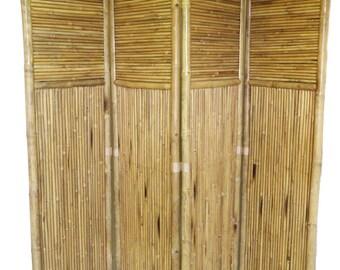 Bamboo 4 Panel Screen, BSC-88