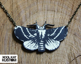Moths necklace