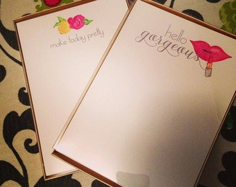 Note Paper- Hello Gorgeous