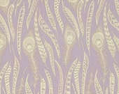 Anna Maria Horner - Field Study- Fine Feathered - Lavender - 100% Cotton - Free Spirit - Price per 1/2 yard
