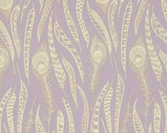 Anna Maria Horner - Field Study- Fine Feathered - Lavender - 100% Cotton - Free Spirit - Price per 1/2 yard