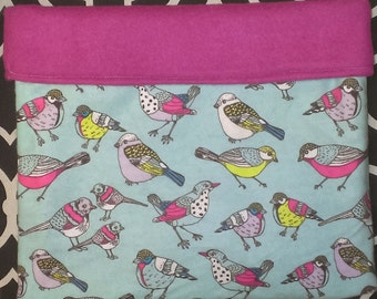 Birds of a Feather Flannel Snuggle Sack for Small Animals