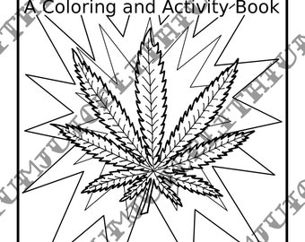 Popular items for bongs on etsy for Bong coloring pages