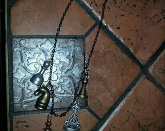 Chess piece necklace-clearence sale-