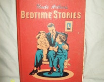 Vintage 1941 Uncle Arthur's Bedtime Stories Children's Hardback Book