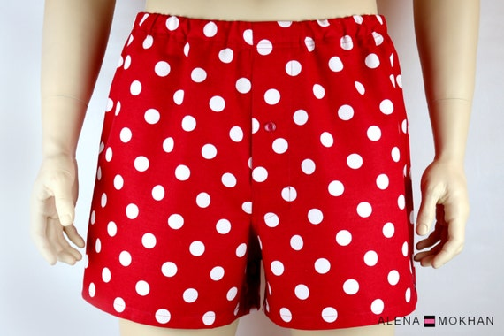Express your self with our extensive collection of Polka Dot Boxer Shorts. Our boxer shorts are made of % lightweight cotton for breathable comfort.