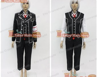 Vampire Knight Zero Kiriyu Cosplay Costume Black