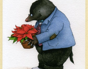 Mr. Mole's Christmas Card