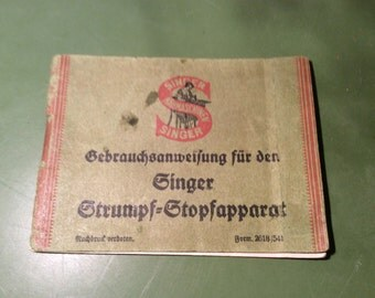 Manuale per macchina cucire instructions singer stocking stopper apparatus in 1925