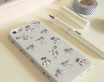 Siberian Husky Case for iPhone 6 , 6+, 5/5s, 5c, 4/4s