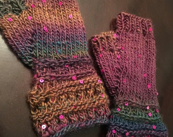 Sequenced Fingerless Gloves