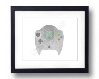Video Game Controller - Dreamcast