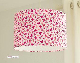 Lampshade, butterflies