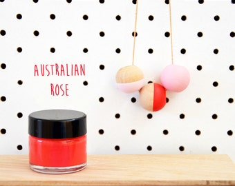 Wood Paint  - Australian Rose- 15ml jar - 10 Beautiful Colours Available.